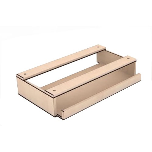 SPAZIO Keyboard Tray [KT] - Ivory Maple - Meja Komputer